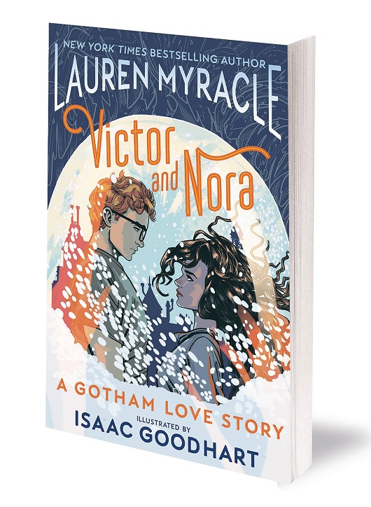 Cover of Victor & Nora A Gotham Love Story Tp from DC Comics