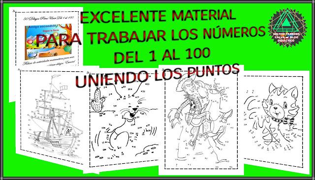 UNIENDO  LOS PUNTOS-DEL 1 AL 100