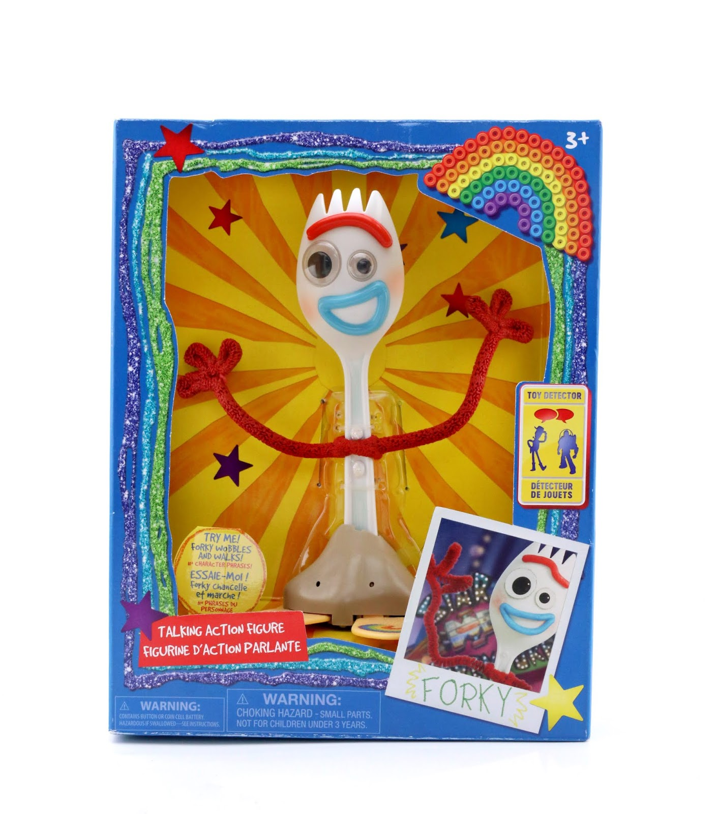 disney store toy story 4 forky talking action figure review
