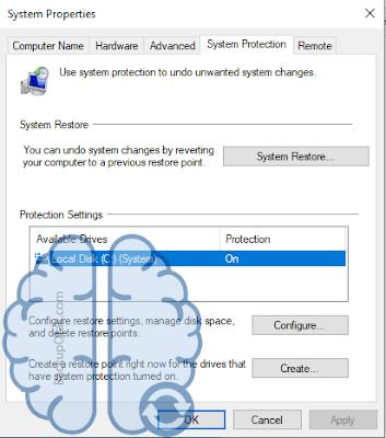 Mengaktifkan Backup Restore System