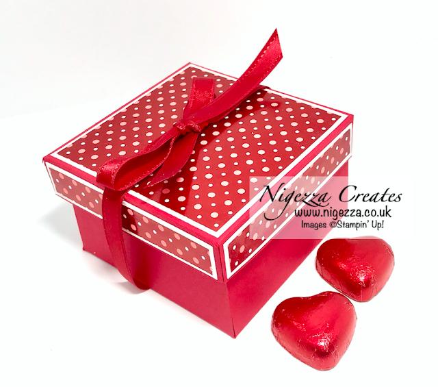 Valentine gift box Stampin Up