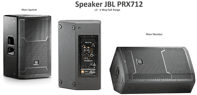 Harga Speaker Aktif JBL PRX712