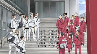 ハイキュー!! アニメ 3期10話   音駒 梟谷学園高校    HAIKYU!! Season3