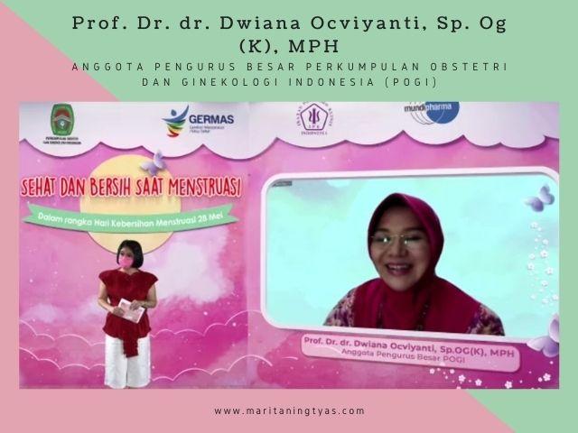 Prof. Dr. dr. Dwiana Ocviyanti, anggota POGI