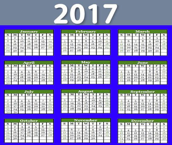 Calendar Year Q : Happy new year calendar