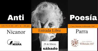 Poesía y música | La Antipoesía De Nicanor Parra