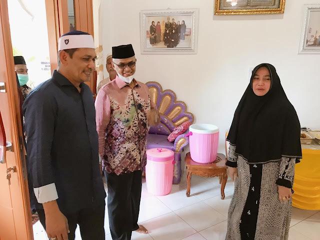 Abang Kandung H.Imran A.Hamid Meninggal, Bupati Bireun dan Forkopimda Takziah ke Rumah Duka