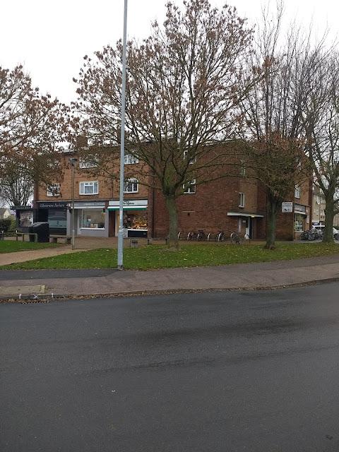 Cherry Hinton, Dorrington's, Cakes, Cinema, Flats, Cambridge, Stops-Shops