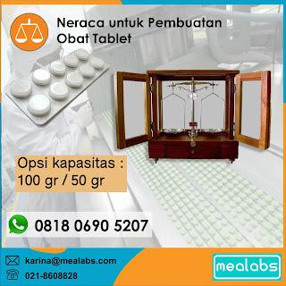 Neraca untuk Pembuatan Tablet