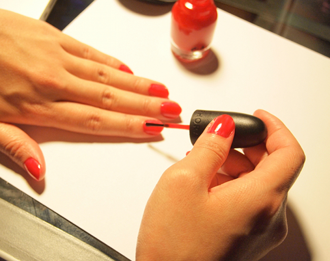 Painting Nails | Feather Factor