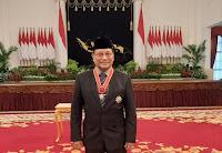 Ketua DPC Gerindra Kobi Beri Ucapan Selamat kepada Prof Farouk Muhammad