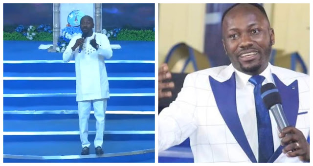 Prove You Can Command Angels to Give Money People without working for it - Nigerians Dare Apostle Johnson Suleman (Video)