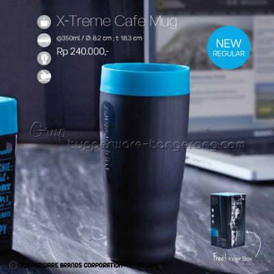 X-Treme Cafe Mug ~ Katalog Tupperware Promo Mei 2016