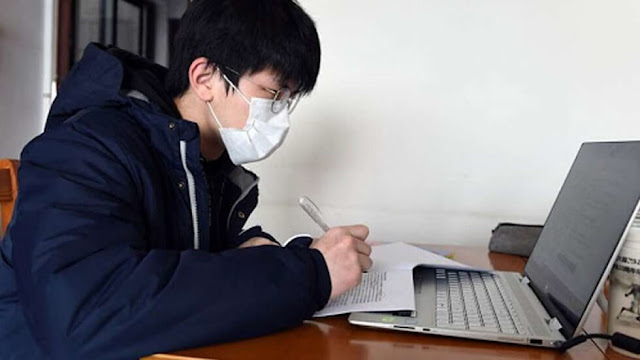 Corona Virus Outbreak : The Rise of Online Education