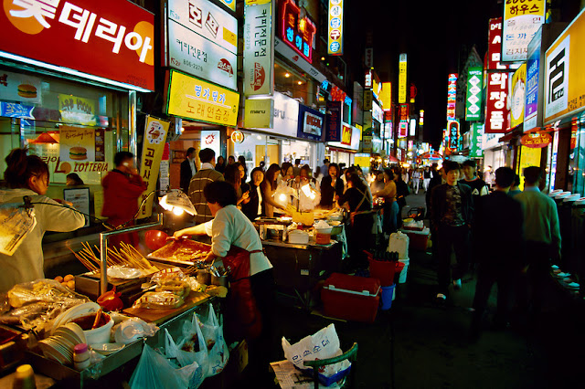 Halal Korean Street Food, Travel to Korea