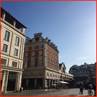 london, covent garden, sun