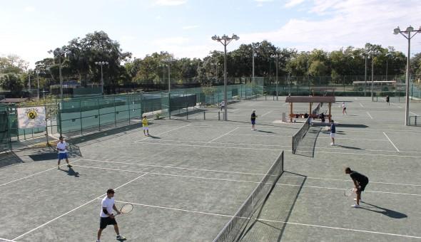 Jogo de tênis em Orlando