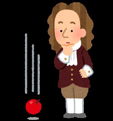 ニュートンとりんご