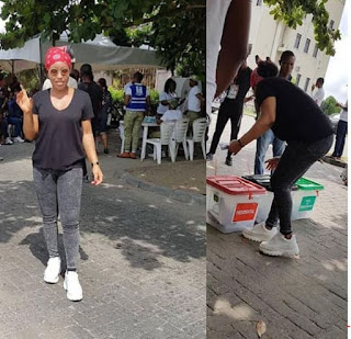 Rita Dominic Voted