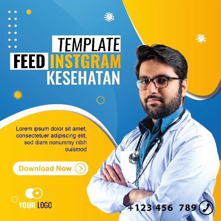 Download Feed Instagram Kesehatan Powerpoint