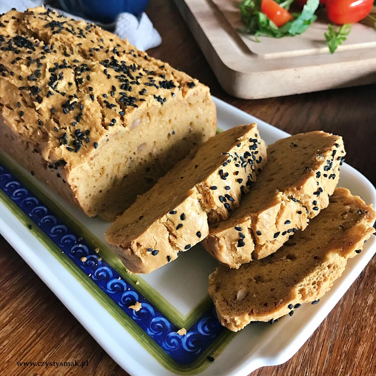 Chleb z masła orzechowego - bez mąki