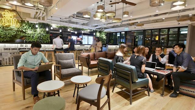 【香港】naked Hub 上環共享工作間 提供5.5萬呎樓面