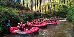rafting sungai palayangan bandung selatan