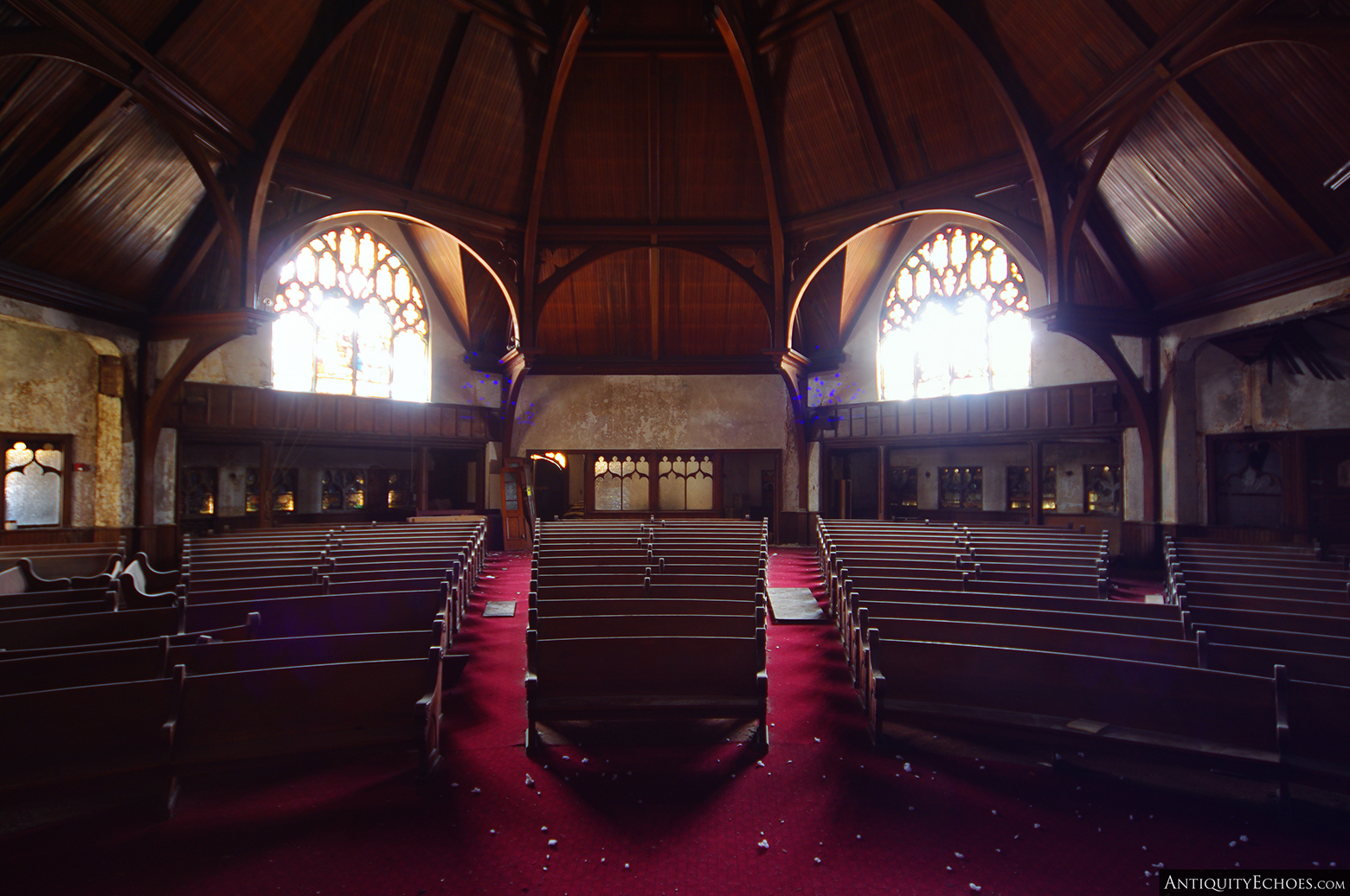 Third Presbyterian - Worship Hall View from Alter