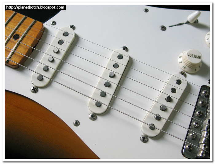 Seymour Duncan APS-1 pickups in Stratocaster