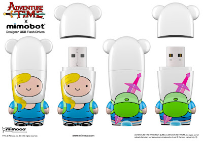 Adventure Time x Mimobot USB Flashdrive Collection - San Diego Comic-Con 2012 Exclusive Fionna