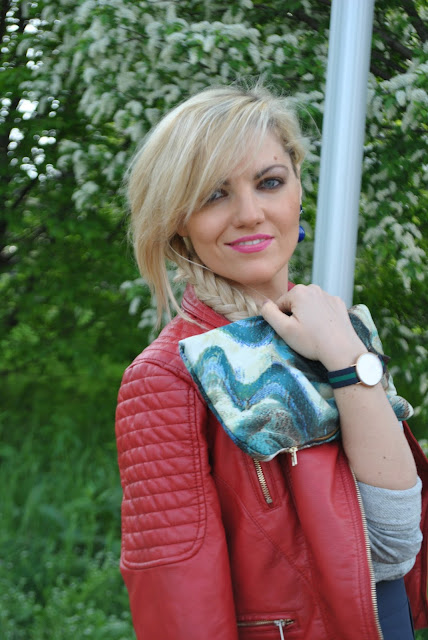 treccia boho orologio daniel wellington outfit rosso come abbinare il rosso abbinamenti rosso  red outfit how to wear red how to combine red spring outfit outfit aprile 2016 outfit primaverili mariafelicia magno fashion blogger color block by felym fashion blogger italiane fashion blog italiani fashion blogger milano blogger italiane blogger italiane di moda blog di moda italiani ragazze bionde blonde hair blondie blonde girl fashion bloggers italy italian fashion bloggers influencer italiane italian influencer