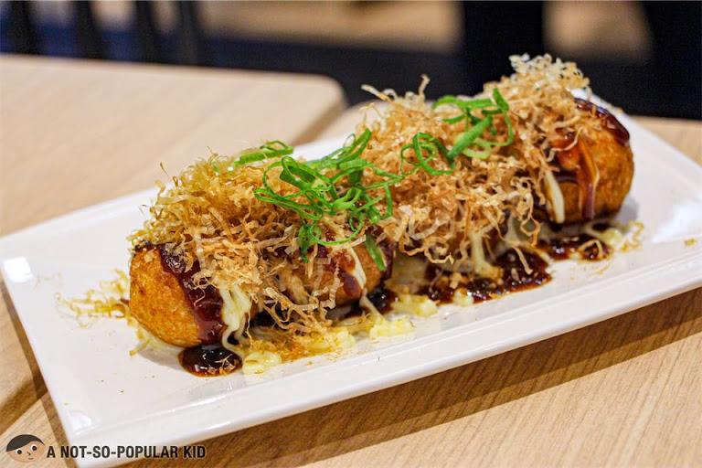 Fried Takoyaki of Menya Kokoro, Uptown Mall