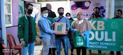 1.000 paket sembako dari PKB untuk Kota Tangerang