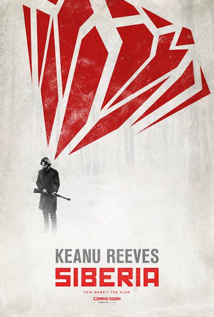 فيلم Siberia.. النجم كيانو ريفز بطل قصة رومانسية وتشويق تجري أحداثها في سيبيريا الباردة