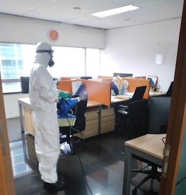 Fogging Disinfecant Kantor dan Rumah, Salah Satu Cara Mencegah COVID 19