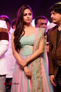 Actress Naina Ganguly Stills in Long Dress at Vangaveeti Audio Launch  0009.JPG