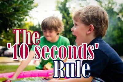 Peraturan '10 saat' untuk anak kecil anda