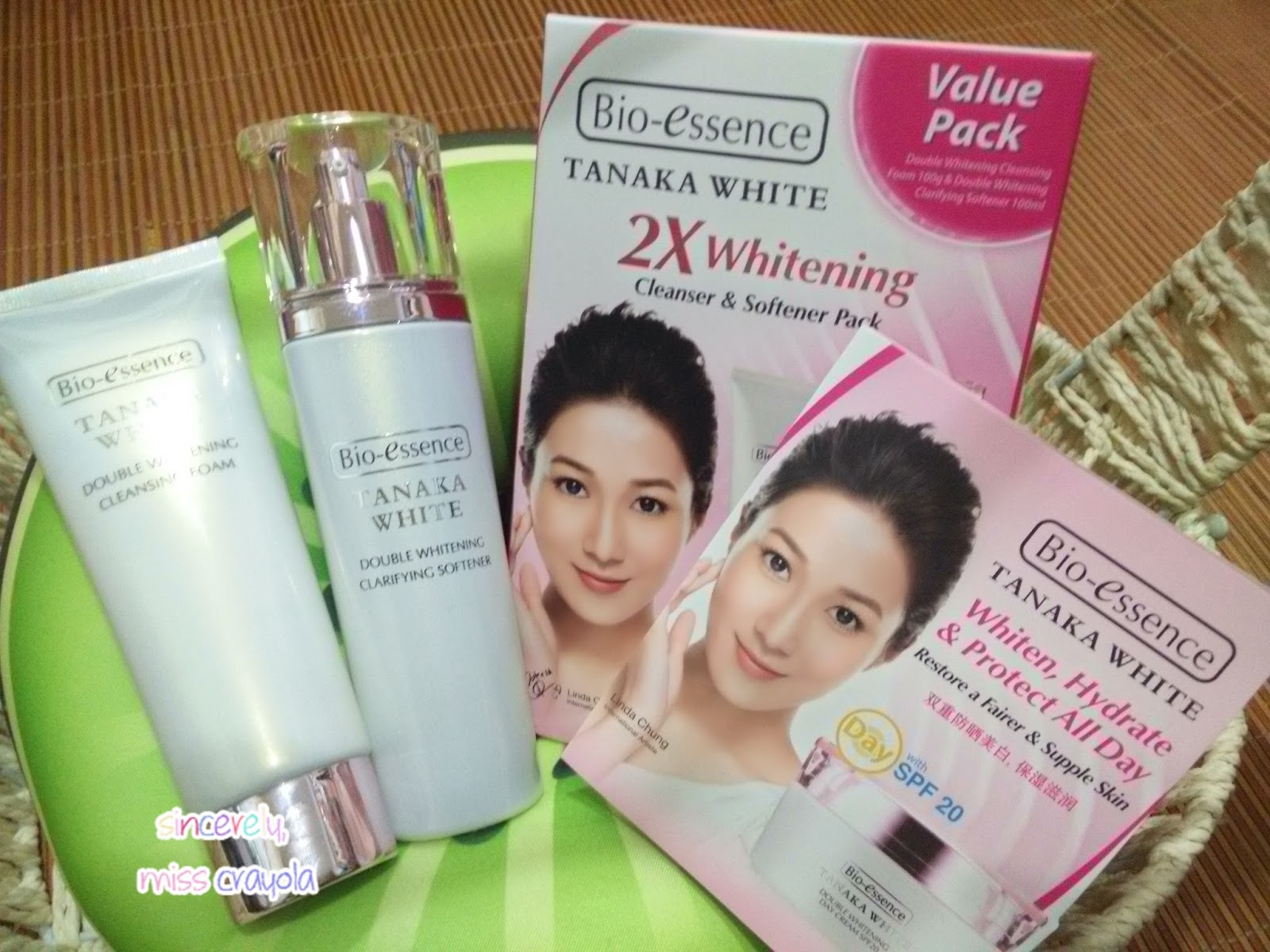 Bio Essence Tanaka White Cleanser & Softener Value Pack