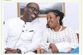 You Can Only Mock Us But You can't Mock God - Obaseki's wife Blast Kabaka