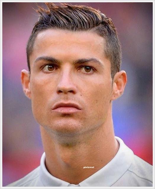 Model potongan rambut cristiano ronaldo