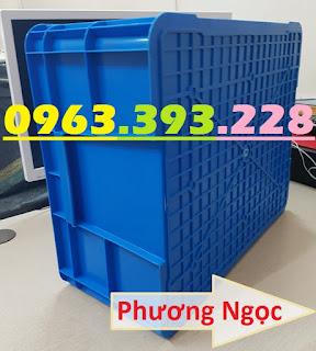 Sóng nhựa đặc B8, thùng nhựa đặc B8, hộp nhựa có nắp, thùng đựng linh kiện T%25C4%2590B8
