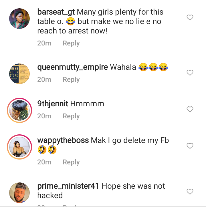 Reactions After EFCC Arrested A Lady For Selling Her Photos And Facebook Accounts To Fraudsters