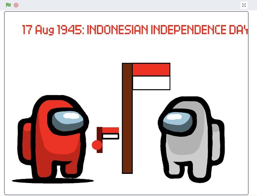 Coding Kemerdekaan karya Christo