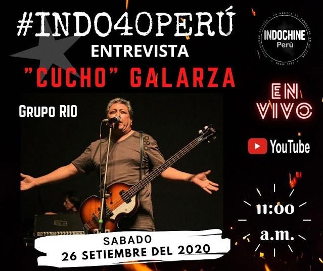 """#INDO40PERU - Entrevista """"Cucho"""" Galarza (Grupo RIO)"""
