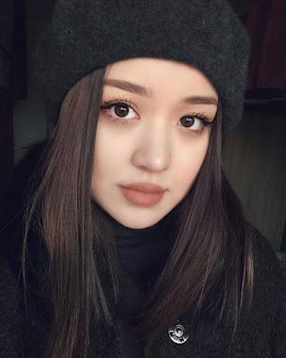 dayana gadis asal kazakstan cantik dan mempesona gebetan fiki naki youtuber indonesia