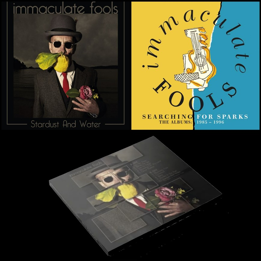 Noticia de Immaculate Fools, nuevo álbum 'Stardust and water' y box-set 'Searching for sparks'
