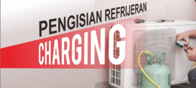Cara pengisian freon atau refrigeran