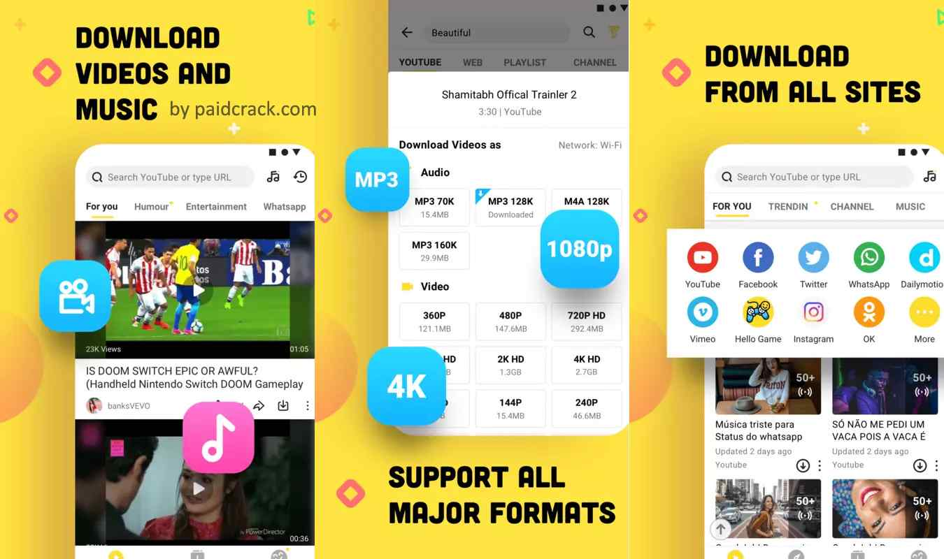 Snaptube VIP Mod Apk Download 5.13.1 [Ad-Free]