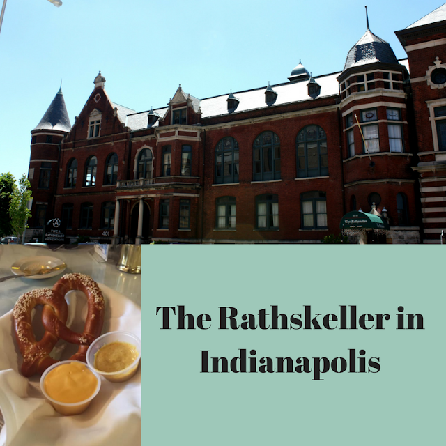 Traditional German fare at The Rathskeller in Indianapolis, Indiana