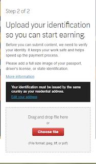 cara kirim ID paspor di shutterstock